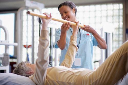 Физкультура пожилым в лечебных целях.